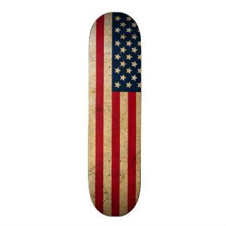 Vintage American Flag Skate Board Deck