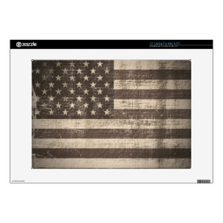 Vintage American Flag Skin For Laptop Laptop Decals