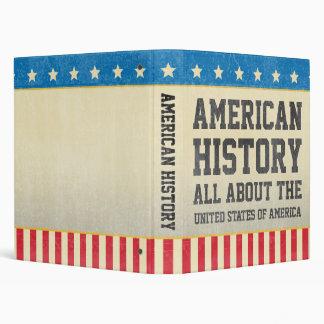 Vintage American History Binder