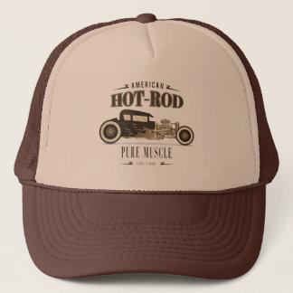 Vintage American Hot Rod CarTrucker Hat