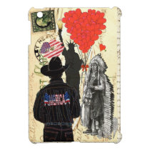Vintage American icons Cover For The iPad Mini