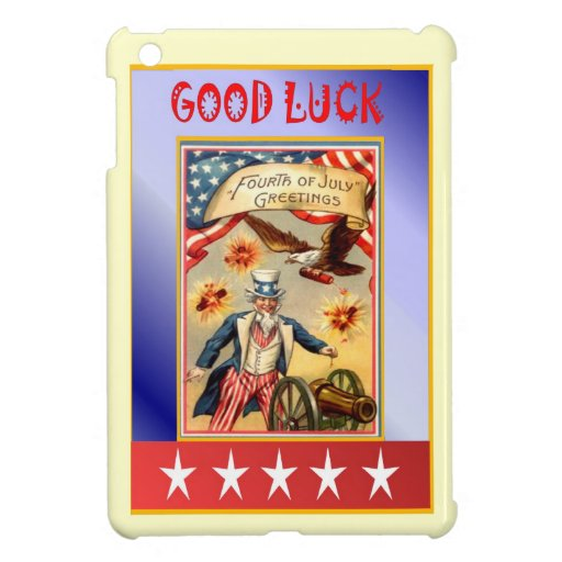Vintage AMerican Image, Independence, 4th July Case For The iPad Mini