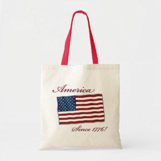 Vintage American Independence Tote