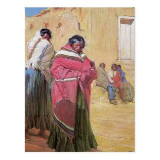 Vintage American Indian Postcard
