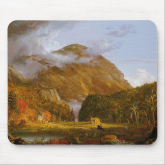 "Vintage American landscape painting ""A View of the Mouse Pad"