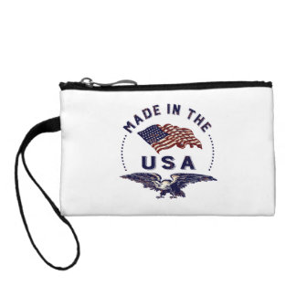 Vintage American Made in the USA Change Purse