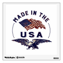 Vintage American Made in the USA Wall Decal
