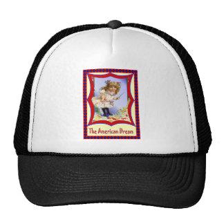 Vintage American patriotic Trucker Hat