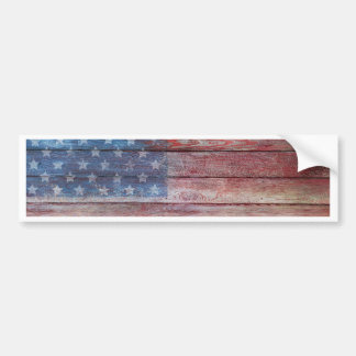 Vintage American Pride Bumper Sticker