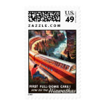 Vintage American Railway, USA - Postage Stamp