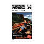 Vintage American Railway, USA - Stamp