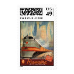 Vintage American Railway, USA - Stamps