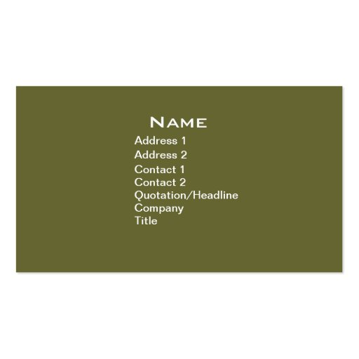 vintage american soldier business card template