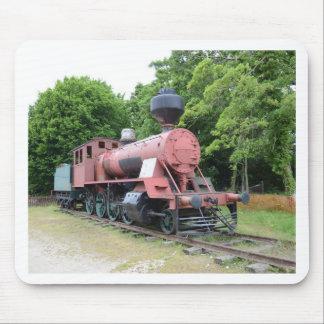 Vintage American Steam Locomotive Mouse Pad