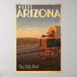 Vintage American Travel Poster -Arizona