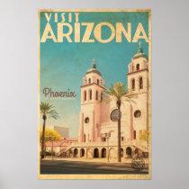Vintage American Travel Poster - Arizona