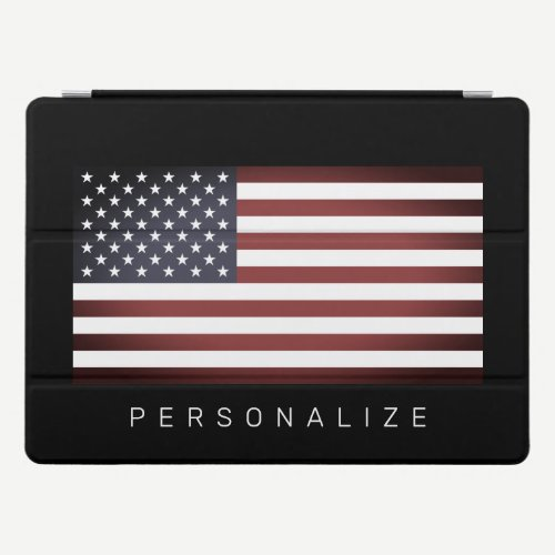 Vintage American US flag custom 12.9 inch Apple iPad Pro Cover
