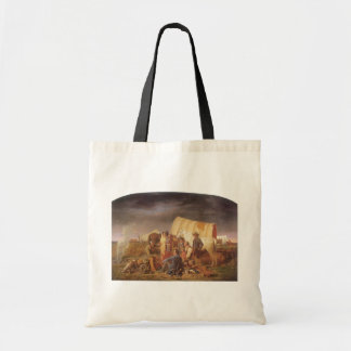 Vintage American West, Advice on Prairie by Ranney Tote Bag