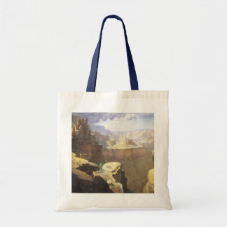 Vintage American West Art, Grand Canyon by Leigh Budget Tote Bag