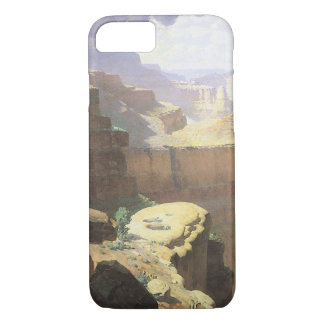 Vintage American West Art, Grand Canyon by Leigh iPhone 8/7 Case