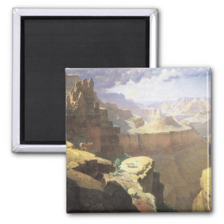 Vintage American West Art, Grand Canyon by Leigh Magnet