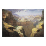 Vintage American West Art, Grand Canyon by Leigh Poster