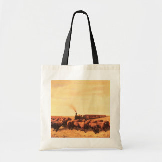 Vintage American West, Held Up by NH Trotter Tote Bag