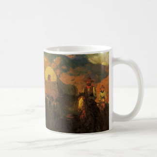 Vintage American West, Overland Trail by Johnson Coffee Mug