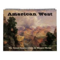 Vintage American West, Western Cowboys Calendar