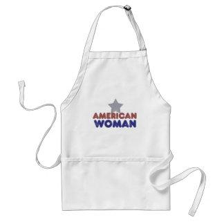 Vintage American Woman Adult Apron