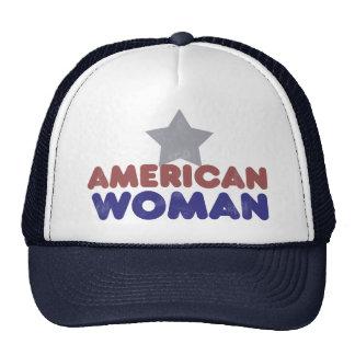 Vintage American Woman Trucker Hat