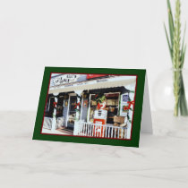 'Vintage Americana Christmas' Card - Old-fashioned