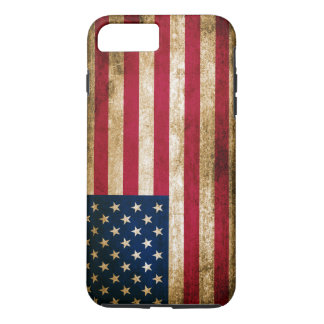 Vintage Americana Flag iPhone 8 Plus/7 Plus Case
