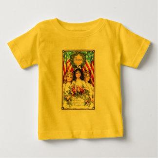 Vintage Americana Image on T shirts, Mugs, More Baby T-Shirt