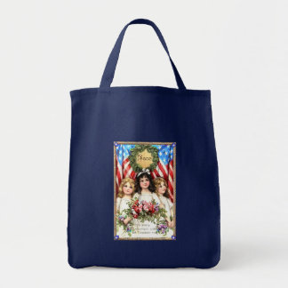 Vintage Americana Image on T shirts, Mugs, More Tote Bags