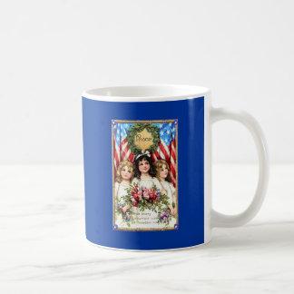 Vintage Americana Image on T shirts, Mugs, More Coffee Mug