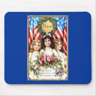 Vintage Americana Image on T shirts, Mugs, More Mouse Pads