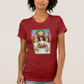 Vintage Americana Image on T shirts, Mugs, More T-Shirt