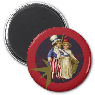 Vintage Americana Refrigerator Magnets