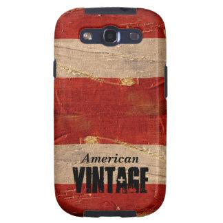 Vintage americano samsung galaxy SIII funda