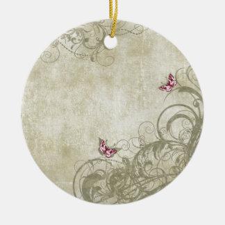 Vintage Amour Ceramic Ornament