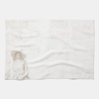Vintage Amour Hand Towel