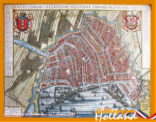 Amsterdam jigsaw puzzles zazzle vintage amsterdam map greetings from holland jigsaw puzzle m4hsunfo