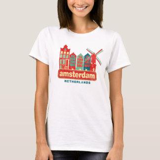 Vintage Amsterdam Netherlands T-Shirt