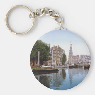Vintage Amsterdam Photo-Picture Keychain