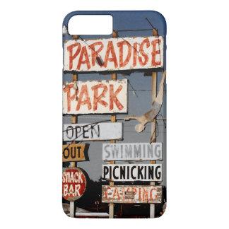 Vintage Amusement Park Sign Photo iPhone 7 Case