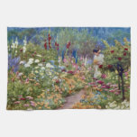 Vintage An English Country Garden Hand Towels