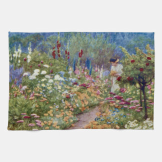 Vintage An English Country Garden Towels