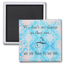 Vintage Anais Nin Quote Magnet
