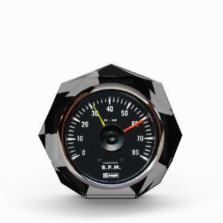 Vintage Analog Auto Tachometer Award